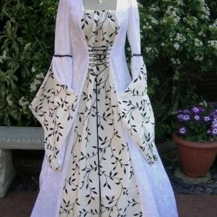 Pagan Medieval Wedding Dresses, Dawns Medieval Dresses