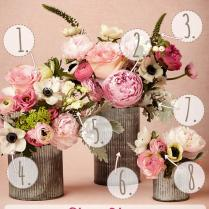 Pink Spring Diy Wedding Flower Arrangement {inspired By Bhldn}