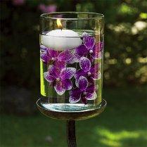 Plum Wedding Table Decoration Ideas