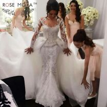 Popular Arab Designers Wedding Dresses