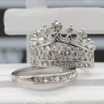 Popular Crown Wedding Rings