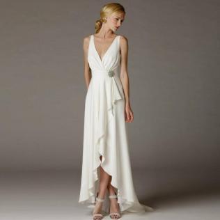 Popular Goddess Style Wedding Dresses