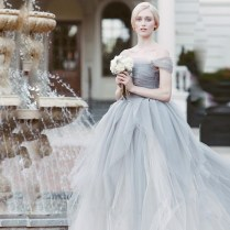 Popular Grey Wedding Dresses