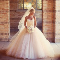 Popular Peach Wedding Dresses