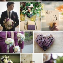 Purple And Cream Wedding Colors Archives