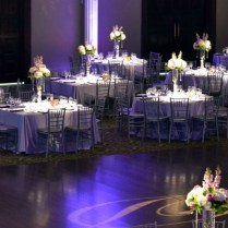 Purple And Silver Wedding Reception Decorations On Decorations