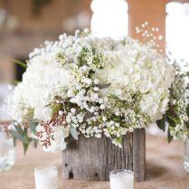 Purple Floral Wedding Centerpieces Hydrangea Wedding Flowers For
