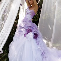 Purple Wedding Dresses, Purple Wedding And Violets On Emasscraft Org