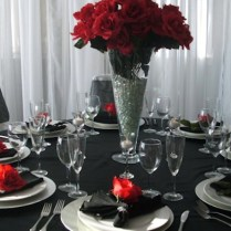 Red And Black Wedding Table Decorationswedding Gallery