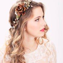 Reserved For Eksanchez48 Flower Crown Wedding By Serenitycrystal