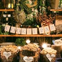 Rock'n Rustic Wedding Dessert Tables & Displays