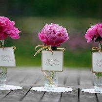 Rose And Peony Wedding Fascinating Peony Wedding Centerpieces