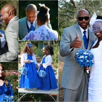 Royal Blue Gray Wedding Colors