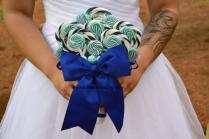 Royal Blue Wedding Bouquet, Royal Blue, Bridal, Wedding, Bouquet