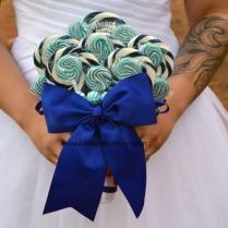 Royal Blue Wedding Bouquet, Royal Blue, Bridal, Wedding, Bouquet