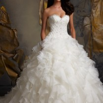 Ruffle Wedding Dresses, Venice And Ruffles On Emasscraft Org