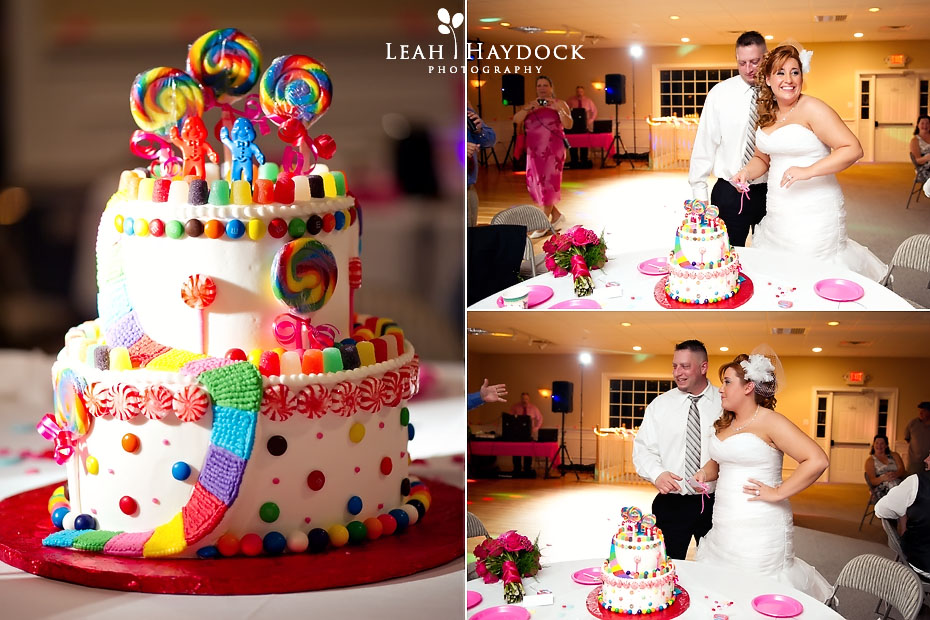 Candy Themed Wedding Reception
