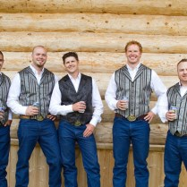 Rustic Alberta Canada Real Wedding By Red Bloom Photography