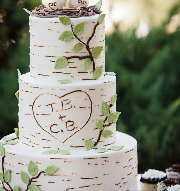 Rustic Wedding Cakes On Emasscraft Org