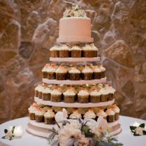 Rustic Wedding Cupcake Stands