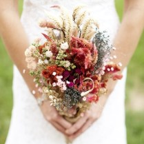 Rustic Wedding Flowers, Rustic Wedding Bouquets And Dried Flowers