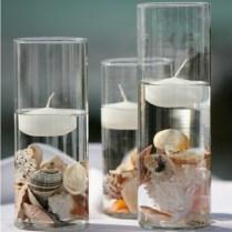 Seashells Wedding Bouquet For Beach Wedding Turquoise And Beige