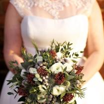Seasonal Winter Wedding Flowers Ideas