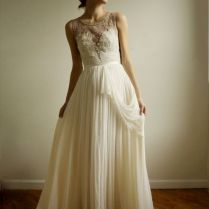 Several Vintage Style Wedding Dresses In Classic Looks