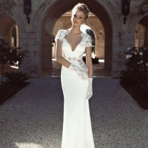 Short Tight Fitted Wedding Dresses