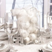 Simple Wedding Centerpieces Ideas, Simple Elegant Winter Wedding