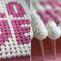 Spring Pastels Wedding Cake Pops
