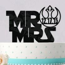Starwars Rebel Alliance Mr Mrs Personalized Date Event Wedding