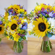 Sunflower Wedding Flowers On Wedding Flowers With Bouquet Of