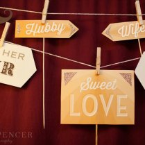Sweet Love Wedding Photo Booth Props