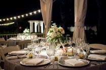 Table Decor For Wedding Rehearsal Dinner Photograph