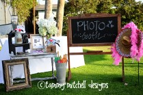 Tammy Mitchell Designs Wedding Event Custom Photo Booth Services