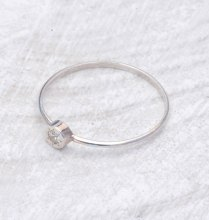 Thin 14k White Gold Wedding Band Minimalist Gold By Thelabjewelry