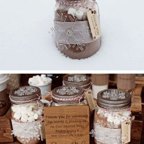 Top 10 Inspirational & Quirky Ideas For Winter Wedding Favors