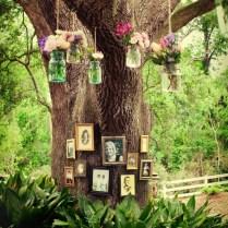 Tree Decor Ideas, Trees Wedding Decoration Ideas Outdoors Creative