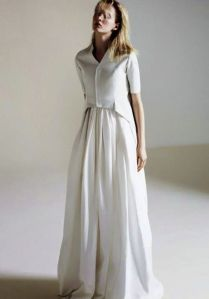 Trend Alert! The Shirtwaist Wedding Dress