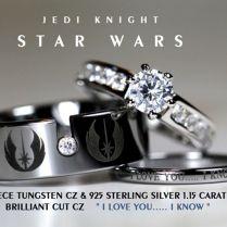 Ultimate Wedding Rings For Hardcore Movie Geeks