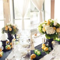 Unique Wedding Centerpieces Reception Decor Lemons