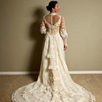 Victorian Style Wedding Gown