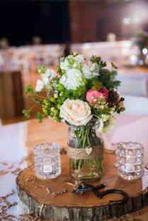 Wedding Rustic Wedding Centerpieces