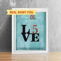 Wedding Anniversary Gift Box Fair 5 Year Wedding Anniversary Gift