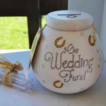 Wedding Bride To Be Money Jar