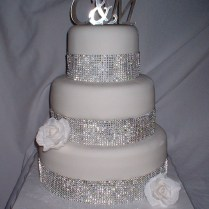 Wedding Cake Pictures With Bling