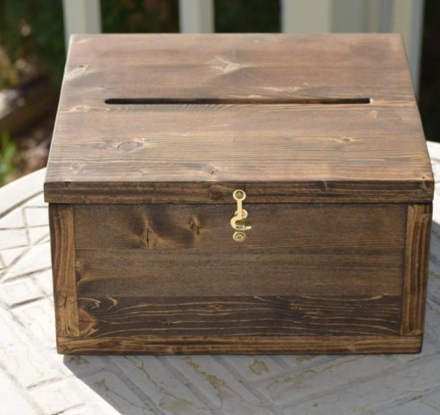 Wedding Card Box, Medium Card Box, Rustic Wedding, Wedding Cards
