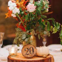 Wedding Centerpieces, Wood Wedding Centerpieces And Centerpieces