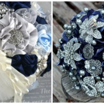 Wedding Colors Navy Blue And Silver